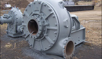 Gravel slurry pumps