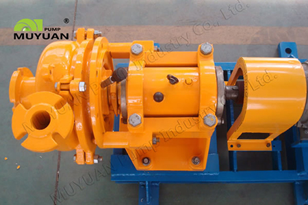 horizontal heavy-duty slurry pump