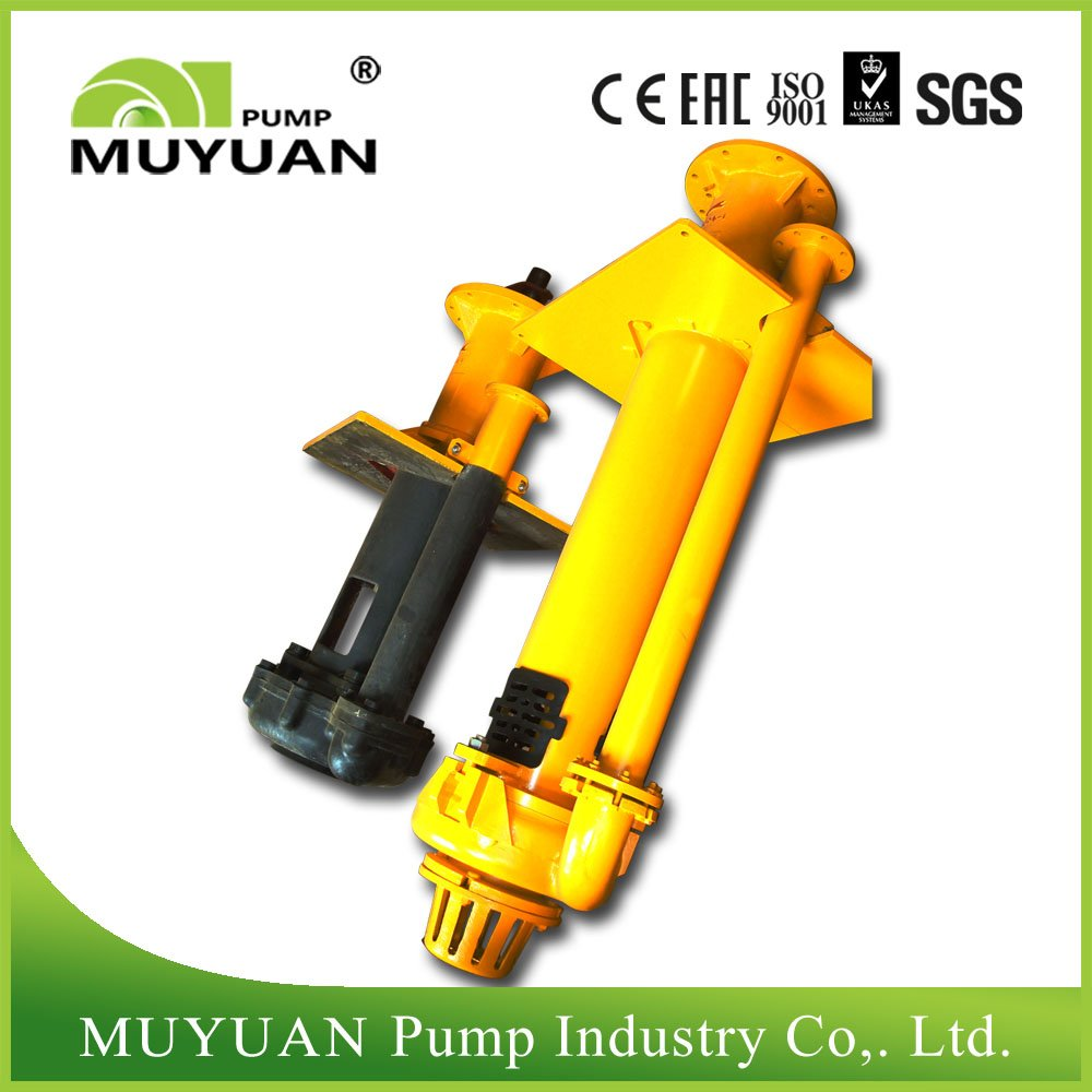 Vertical sludge pump